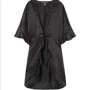 NWT Victoria's Secret Kimono Robe w/ Ruffle Detail